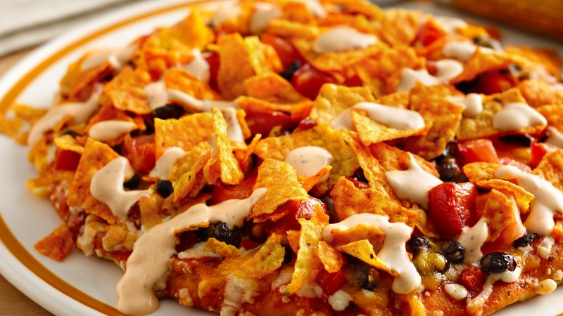 """Nacho Party"" Pizza"