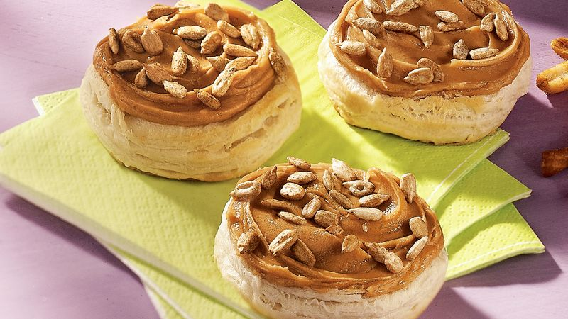 Honey-Peanut Butter Biscuits