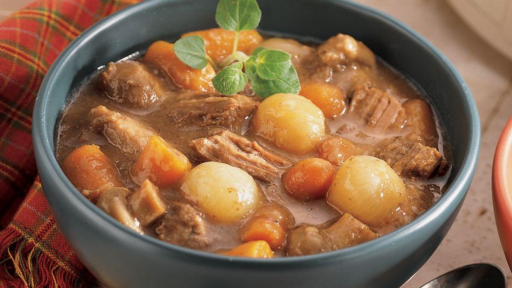 Vegetable-Turkey Stew