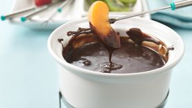 Dark Chocolate Espresso Fondue
