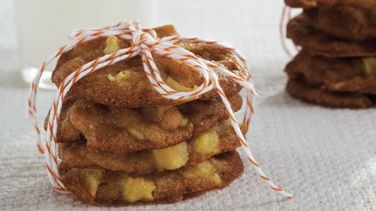 Brown Sugar Apple Cookies