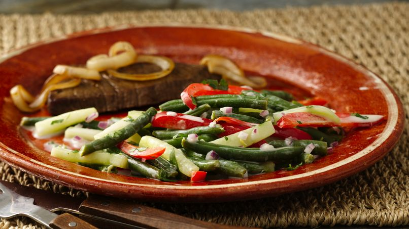 Bean and Cucumber Salad