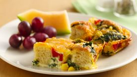 Veggie Bread Pudding