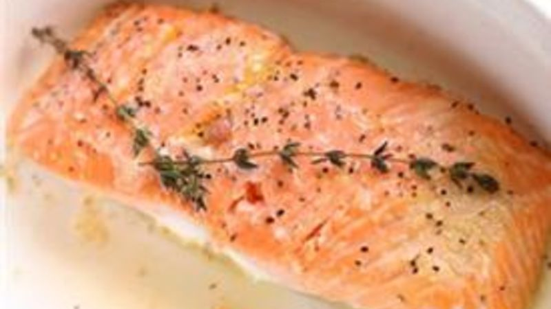 Easy Roasted Salmon