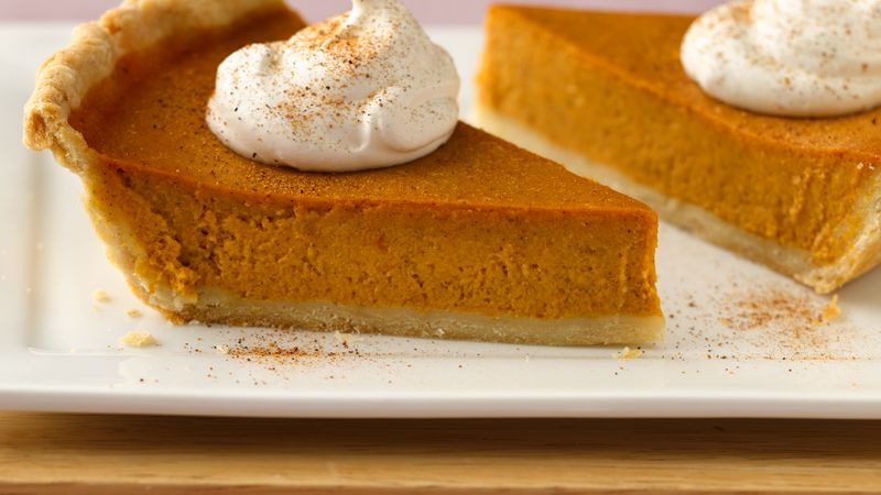 Skinny Pumpkin Pie Recipe - BettyCrocker.com