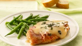Chicken Saltimbocca