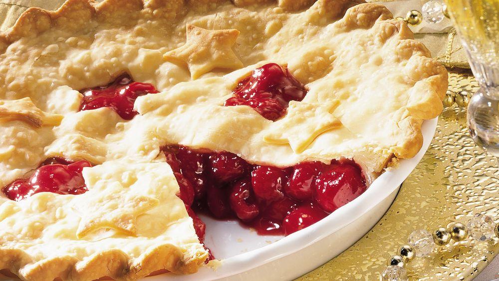 Raspberry-Cherry Pie