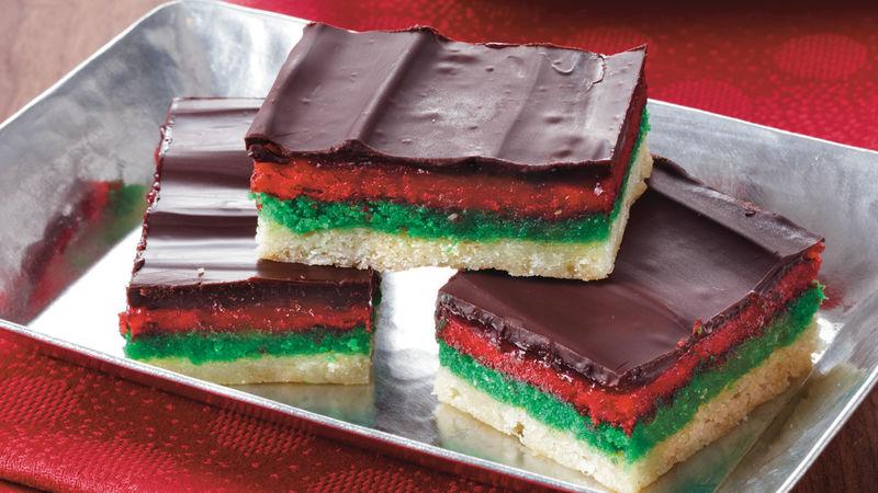 Rainbow Cake Recipe Italian: Italian Rainbow Bars Recipe
