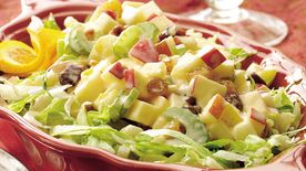 Winter Fruit Waldorf Salad