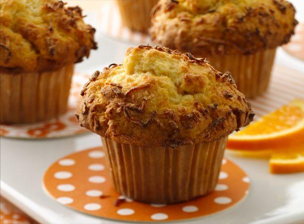 Coconut Orange Muffins