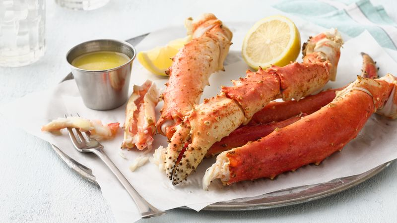 Boiled Crab Legs Recipe Bettycrocker Com