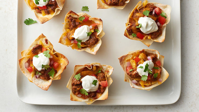 Taco Cupcakes Recipe Tablespoon Com