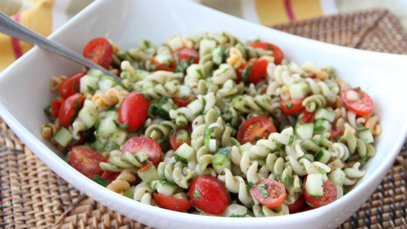 Tabbouleh Pasta Salad