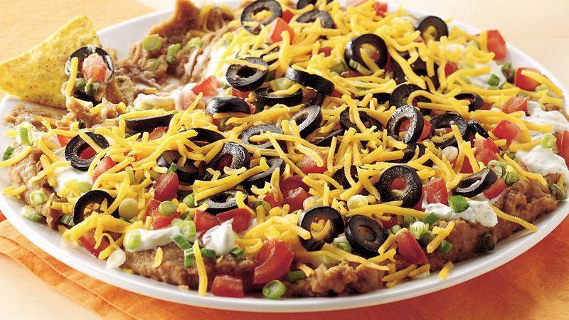 Layered Ranch Taco Dip