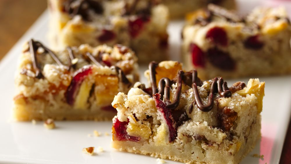 Festive Fruit and Nut Bars
