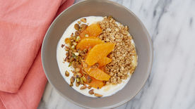 Honey Citrus Yogurt Bowl