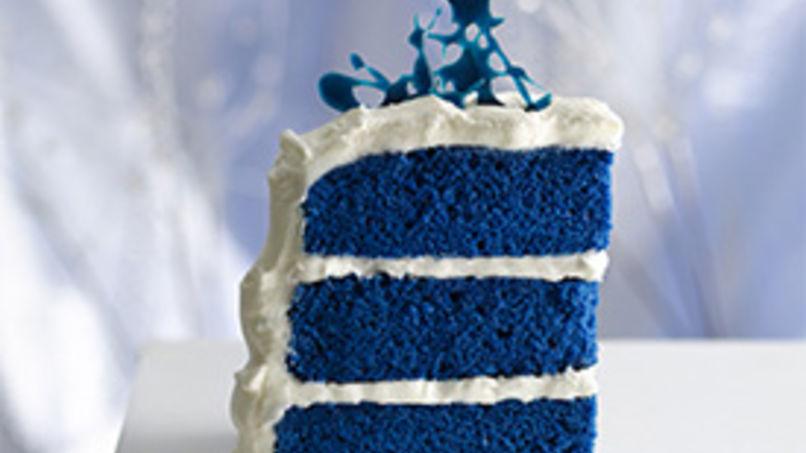 Pastel 'Terciopelo' Azul