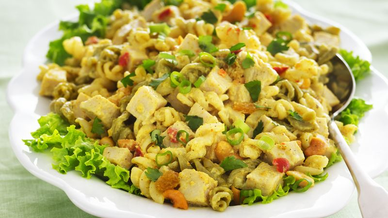 Turkey Chutney Pasta Salad