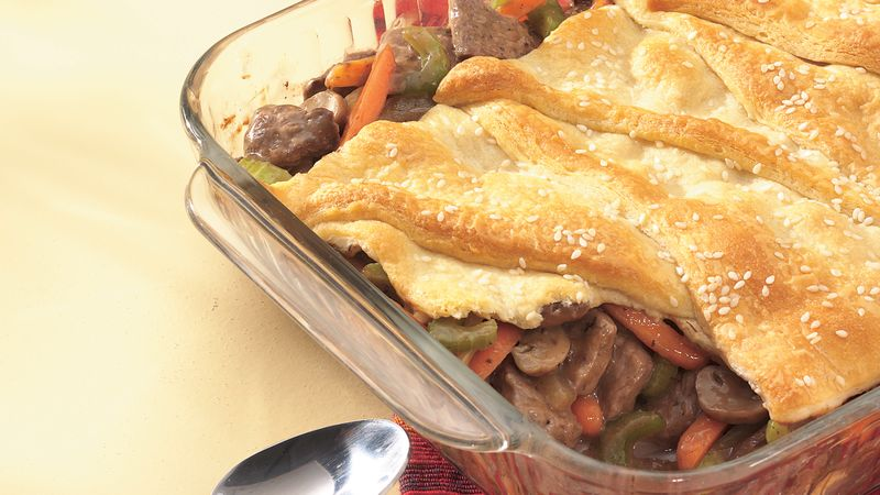 Crescent-Topped Pot Roast Pie (club store pack)