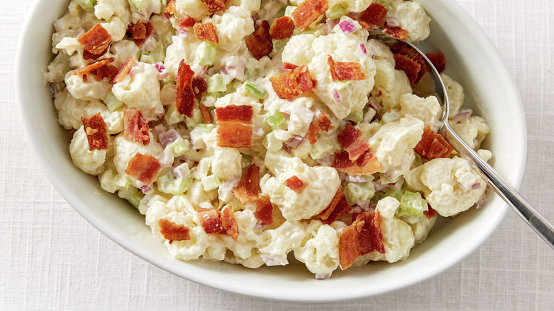 "Cauliflower ""Potato"" Salad"