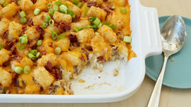 Bacon Cheeseburger Tater Tots™ Casserole