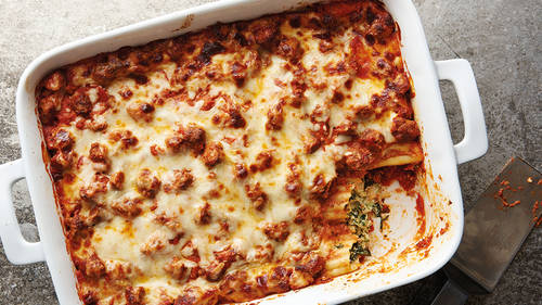 Million-Dollar Manicotti