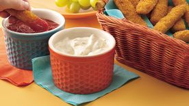 Fish Sticks with Two Yummy Dips