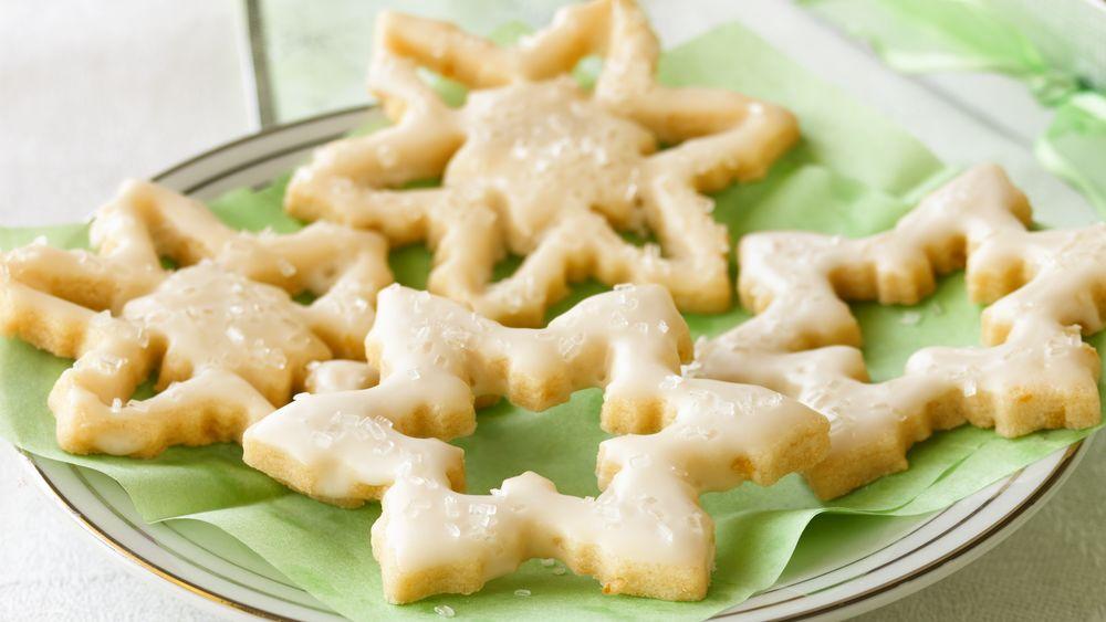 Sparkling Lemon Snowflakes