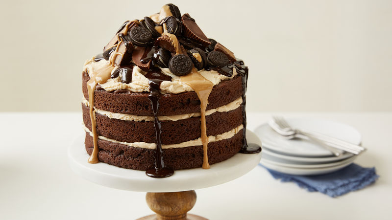 Peanut Butter Cup and Oreo™ Cake