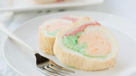 Rainbow Sherbet Roll