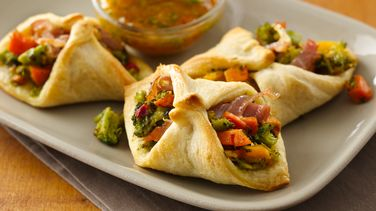Mini Tuscan Vegetable Wraps