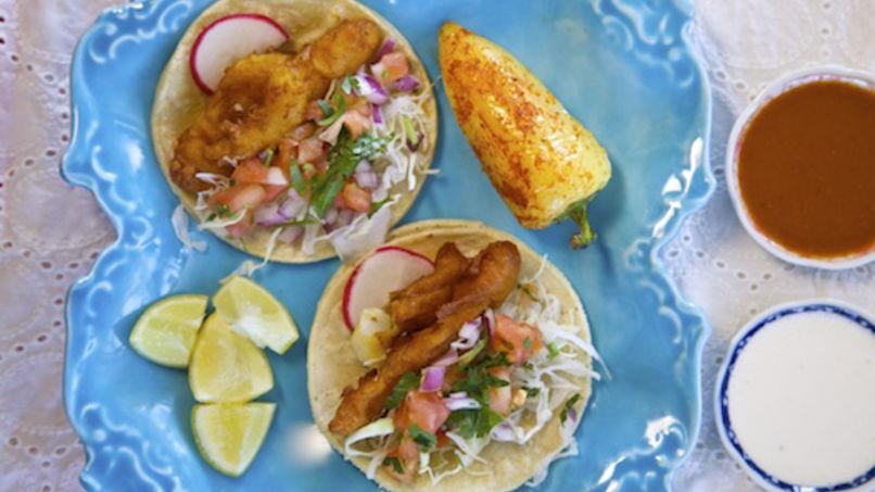 Tacos de Pescado al Estilo Ensenada