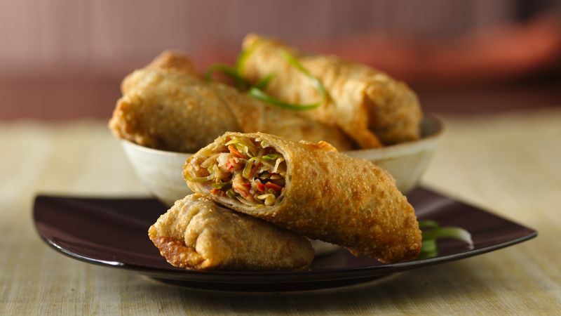 Shrimp Egg Rolls Recipe Bettycrocker Com