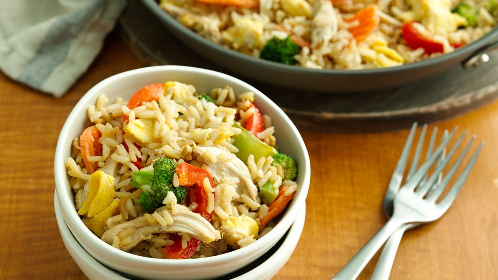 One-Pot Chicken Fried Rice