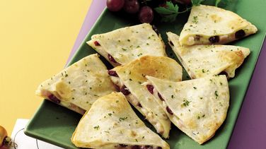 Cranberry-Turkey Quesadillas