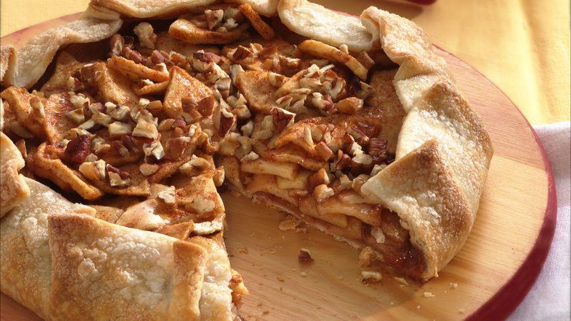 Cinnamon-Apple Crostata