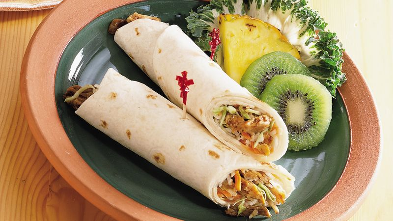 Ginger Pork Wraps