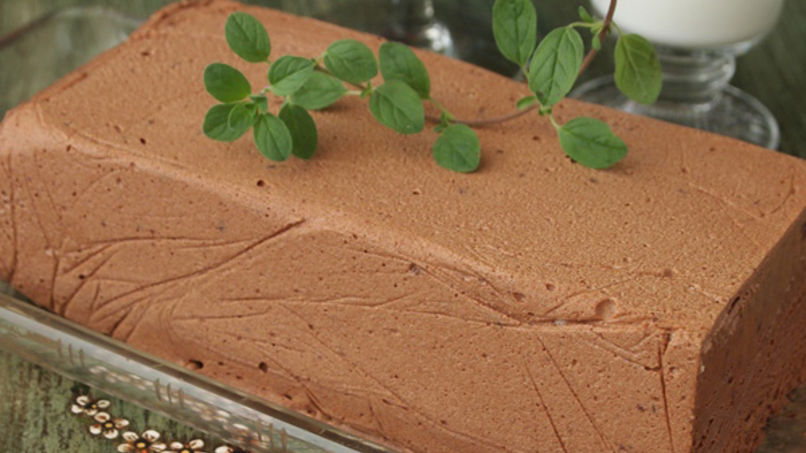 Mint Chocolate Semifreddo