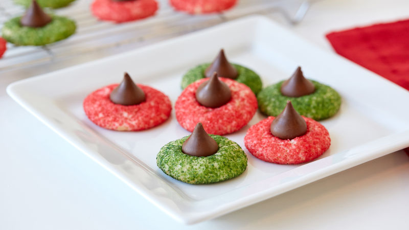 Easy Holiday Blossom Cookies (Small-Batch Quantity)