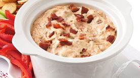 Slow-Cooker Bacon Cheeseburger Dip