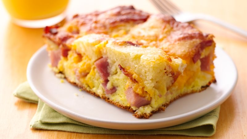 Puffed-Pancake Brunch Casserole | Easy Pancake Casserole Recipes