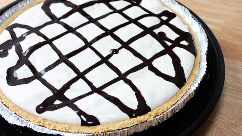 Cream Cheese-Peanut Butter Pie