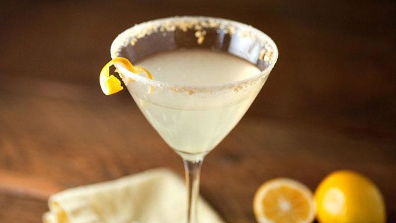 Meyer Lemon Gimlets