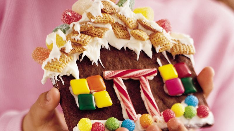 how to make gingerbread dough for houses