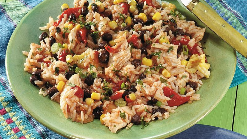 Mexican Fried Rice Recipe Pillsbury Com