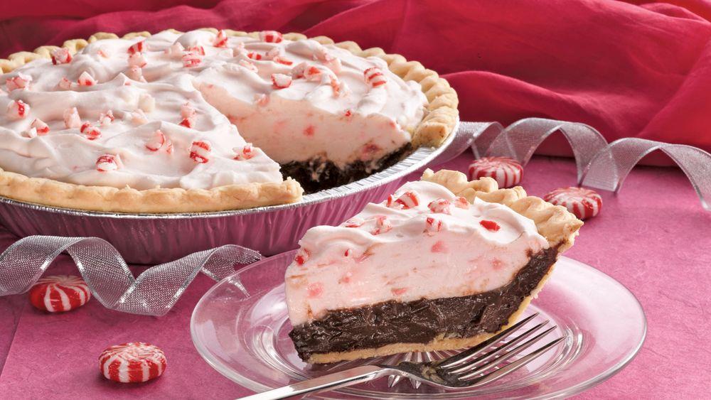 Holiday Chocolate-Mint Pie