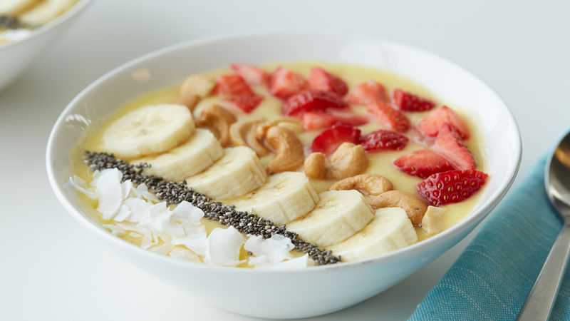 Tropical Smoothie Bowls