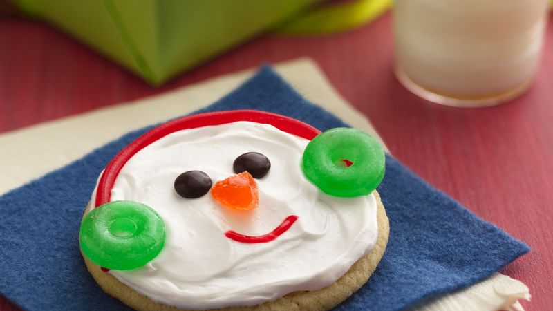 Easy Snowman Cookies Recipe