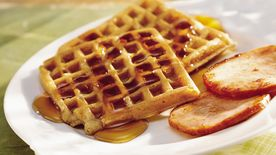 Golden Harvest Waffles