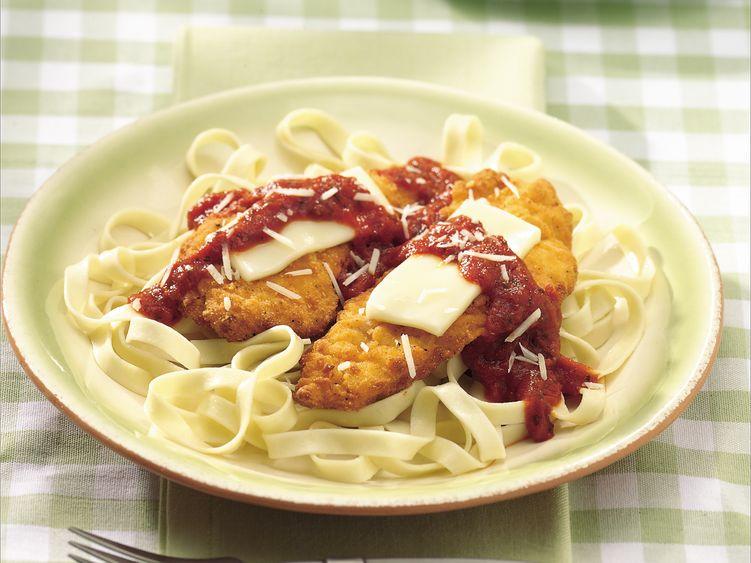 Chicken Parmesan Fettuccine